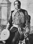 Lewanika 1879-1916-- the 15th Litunga in line, signed protectorate Treaty in 1900